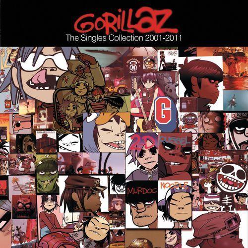 GORILLAZ - THE SINGLES 2001-2011 (CD) (5099973008026)