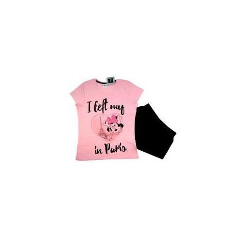 937853d0882e03 Piżama myszka minnie '' i left my in paris '' różowa xl, Disney 59,90 zł  Piżama Disney Myszka Minnie dla pań kobieca piżama Disney Myszka Minnie  Bawełniana ...