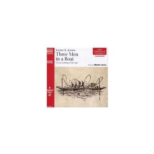 Three Men in a Boat Audiobook, Jerome Jerome