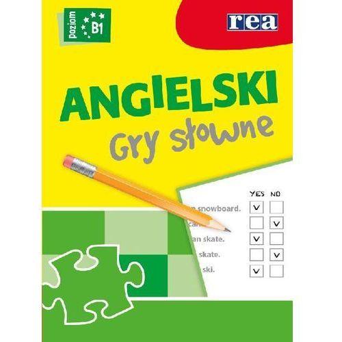 Język Angielski Gry Słowne B1 Dla Średniozaawansowanych, REA