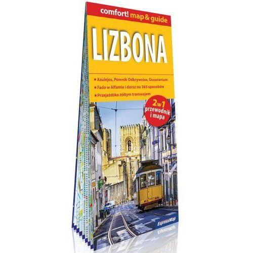 Lizbona laminowany map&guide 2w1: przewodnik i mapa - Praca zbiorowa, praca zbiorowa