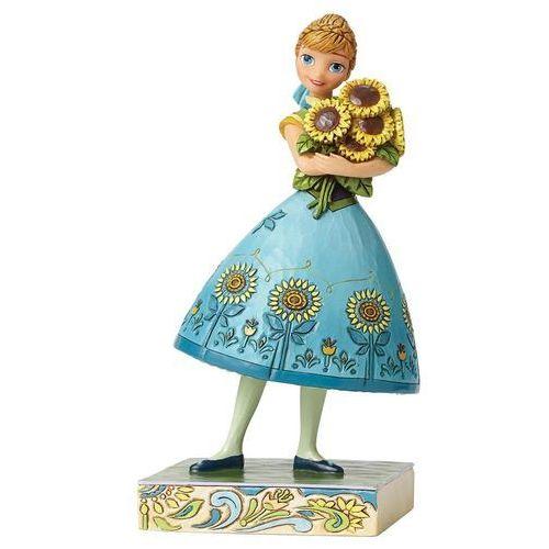 Jim shore Wiosenna anna kraina lodu spring in bloom (frozen fever anna) 4050882 figurka dekoracja pokój dziecięcy