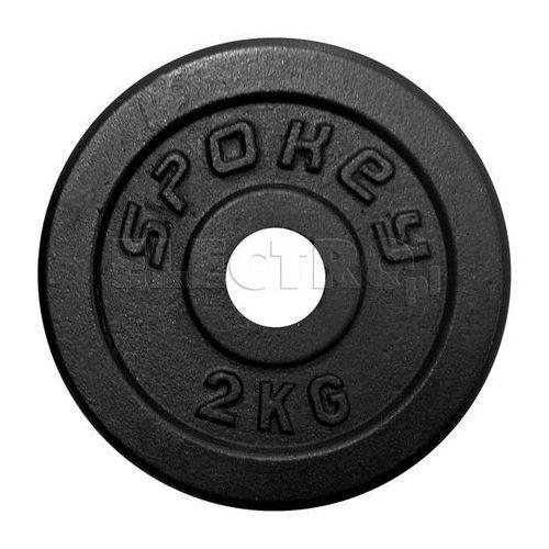 Obciążenie żeliwne SPOKEY Sinis 2.0 kg 84419 + Odbiór w 800 punktach Stacji z paczką! (gryf, sztanga) od ELECTRO.pl