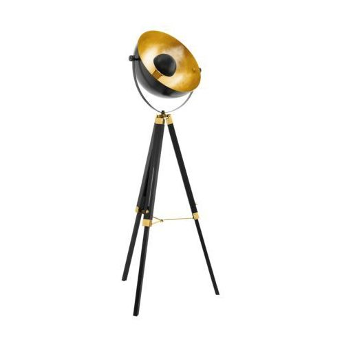 COVALEDA 49618 LAMPA PODŁOGOWA VINTAGE LOFT EGLO, kolor czarny,