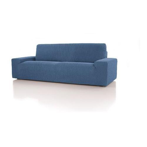 Forbyt, pokrowiec multielastyczny na fotel cagliari niebieski, 70 - 110 cm marki 4home
