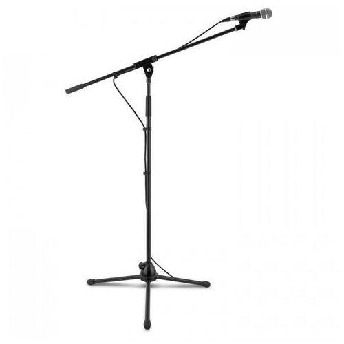 3 xKM 02 zestaw mikrofonowy 4-częściowy mikrofon statyw zacisk kabel 5m c