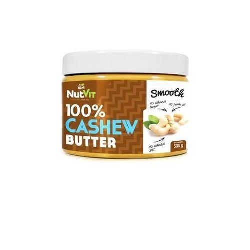 Nutvit 100% cashew butter - 500g - smooth (5902232610062)