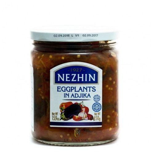 Adżika z bakłażanem, adjika, 450 g, marki Nezhin