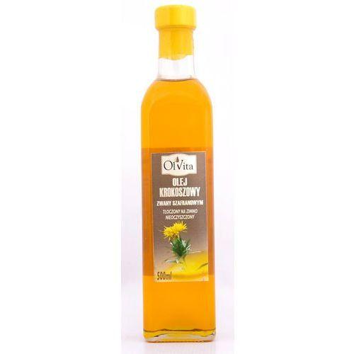 Olej krokoszowy z krokosza barwierskiego tłoczony na zimno 500ml - Olvita (Oleje, oliwy i octy)