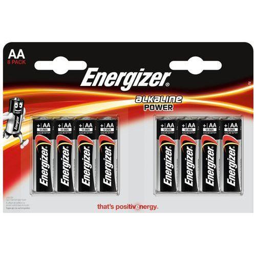 Energizer 8 x bateria alkaliczna alkaline power lr6/aa (blister) (7638900410686)