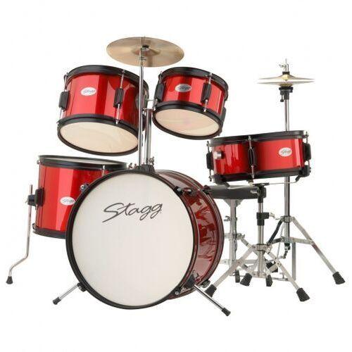 Stagg tim jr 5/16 rd akustyczny zestaw perkusyjny, seria junior
