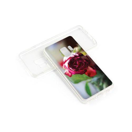 etuo Foto Case - Samsung Galaxy S9 Plus - etui na telefon Foto Case - pączek róży