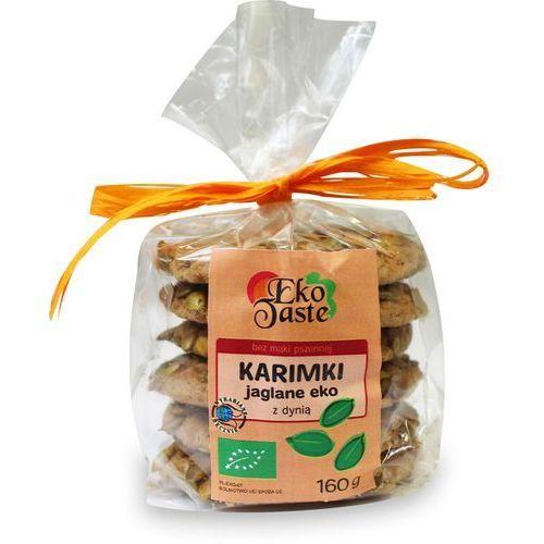 Eko taste Ciastka karimki jaglane z dynią bio 160 g - (tast)