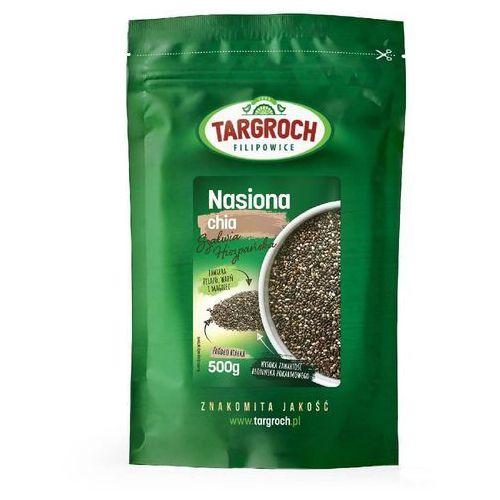 Nasiona chia - szałwia hiszpańska 500g marki Targroch