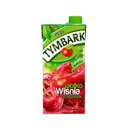 1l wiśnia jabłko napój owocowy marki Tymbark