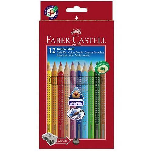 Faber-castell Kredki ołówkowe jumbo grip 12 kolorów (4005401109129)