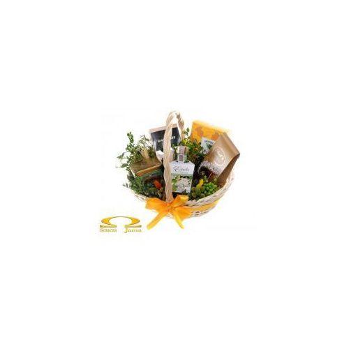 Kosz delikatesowy wiosenne nowalijki marki Smacza jama