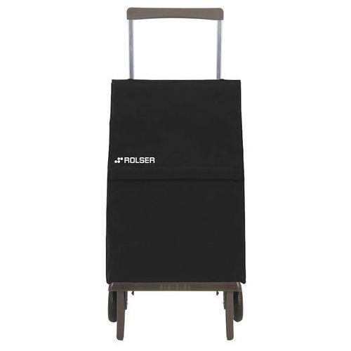Wózek zakupowy składany Rolser Plegamatic czarny (wózek na zakupy)