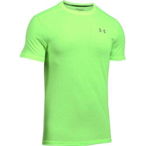 Under armour koszulka ua streaker shortsleeve t zielona - jasnozielony ||zielony