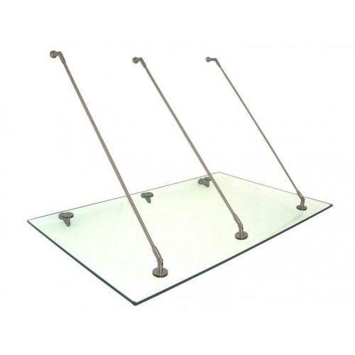 Metal-gum Daszek zadaszenie szklane drzwi 200 x 90