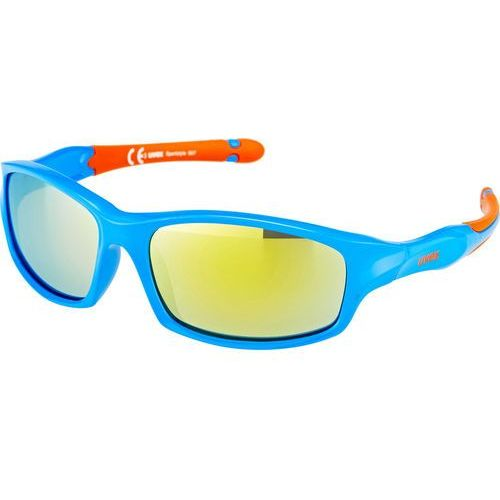 UVEX sportstyle 507 Kids Okulary rowerowe Dzieci niebieski 2018 Okulary przeciwsłoneczne dla dzieci
