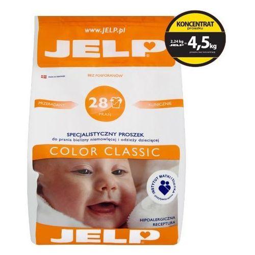 JELP 2,24kg Color Clasic Hipoalergiczny proszek do prania dla dzieci (28 prań) (proszek do prania ubrań)