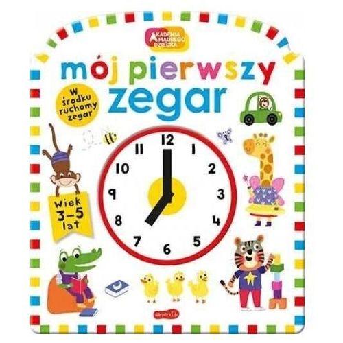 Akademia mądrego dziecka. Mój pierwszy zegar - Natalie Munday, Rhea Gaughan, Mara van der Meer, - książka (9788327658609)