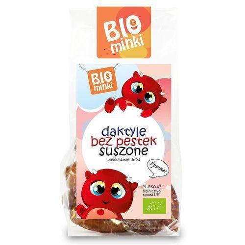 Biominki (przekąski dla dzieci) Daktyle bez pestek suszone bio 100 g - biominki