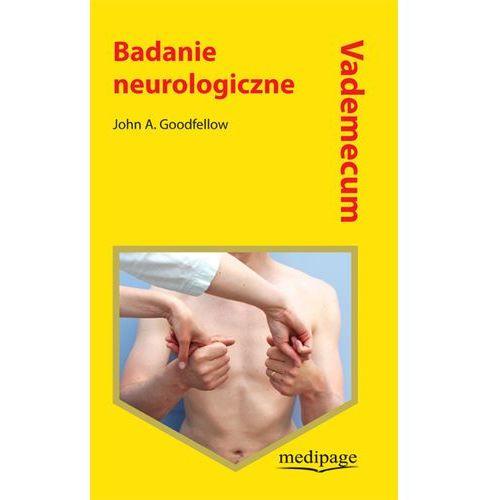 Vademecum - Badanie neurologiczne (9788364737411)
