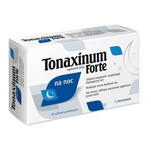 TONAXINUM FORTE na noc 60 tabletek (lek nasenne)