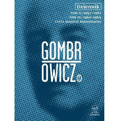 Dziennik t.2 i 3 - audiobook - Witold Gombrowicz - Dostępne od: 2014-09-25