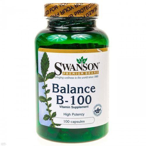 Witamina Swanson Balance B-100 100tab Najlepszy produkt