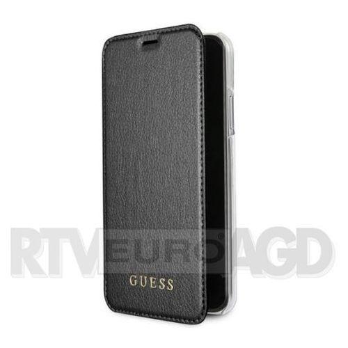 Guess guflbkpxigltbk book iphone x czarny iridescent (3700740407868)