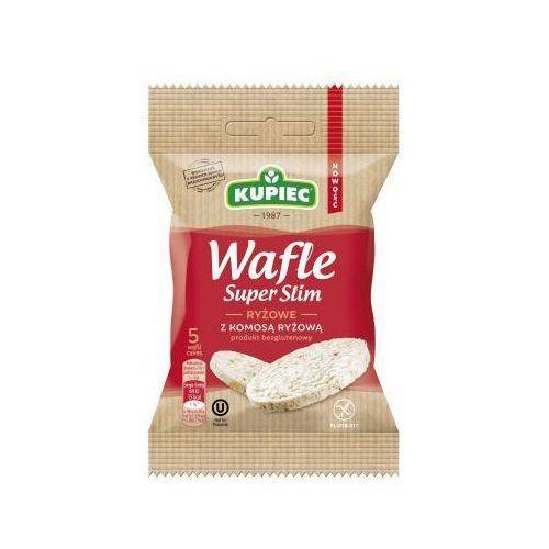 Wafle ryżowe z komosą ryżową Super Slim 20 g Kupiec (5906747174354)