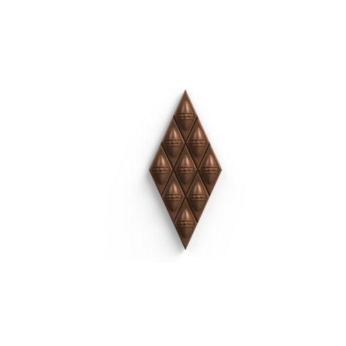 Diament Mleczny czekoladowy z nadzieniem malinowym, 187
