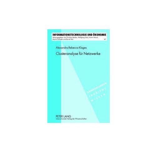 Clusteranalyse für Netzwerke (9783631638323)