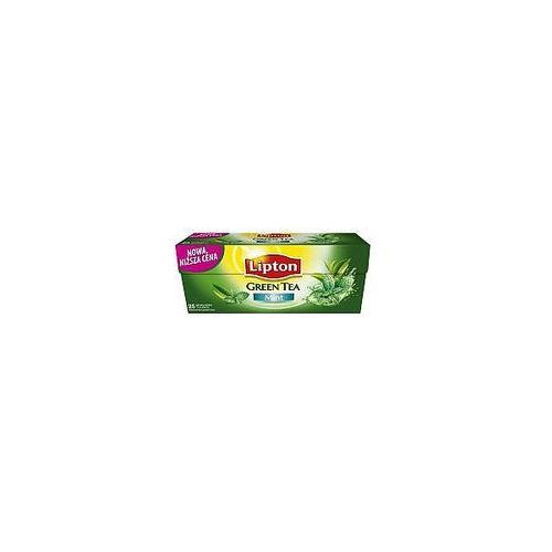 Lipton Herbata green mint 25szt.