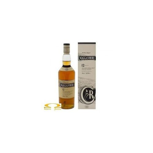 Classic malts of scotland Whisky cragganmore 12 years old 0,7l (5000281005430)