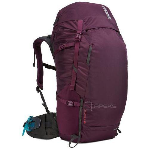 Thule alltrail 45l plecak damski turystyczny / podróżny / fioletowy - monarch
