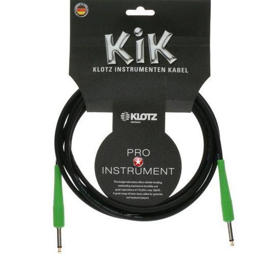 kabel gitarowy 6m złącze zielone marki Klotz