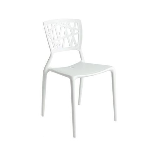 D2.design Krzesło bush inspirowane viento chair - biały