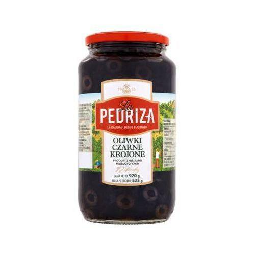 920g oliwki czarne krojone marki La pedriza