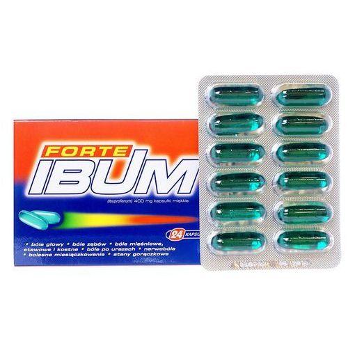 Ibum Forte kapsułki elastyczne 0.4 g 24 sztuki - oferta [0552d549534f52f0]