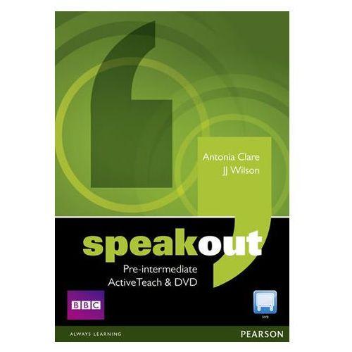 Speakout Pre-Intermediate Active Teach. Oprogramowanie Do Tablicy Interaktywnej (9781408216750)