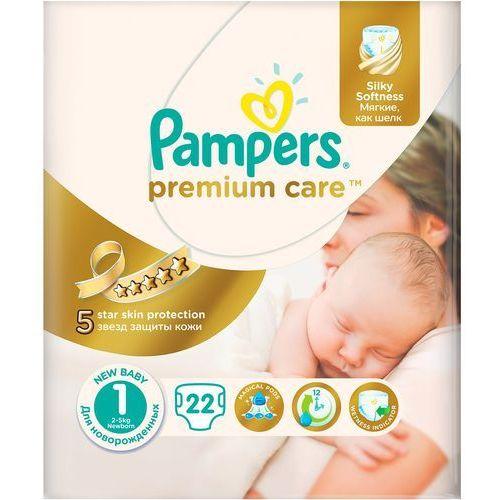 premium care 1 new baby pieluchy 22szt pieluszki marki Pampers