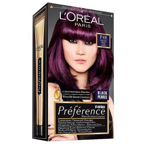 Farba do włosów Feria Preference - P48 Perłowy Fiolet, L'Oréal