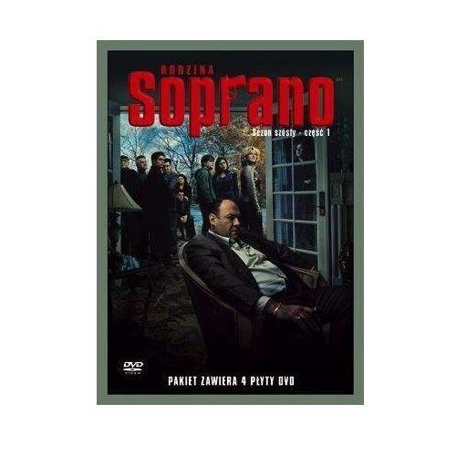 Galapagos films Rodzina soprano, sezon 6. część 1 (4 dvd) (7321909836150)