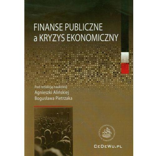 Finanse publiczne a kryzys ekonomiczny (158 str.)