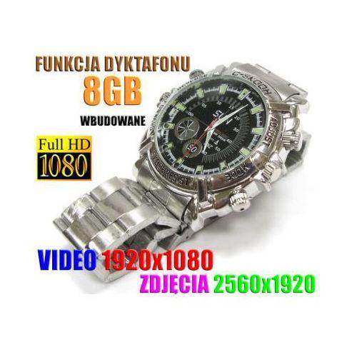 Szpiegowski Zegarek FHD na Rękę (8GB), Nagrywający Obraz/Dźwięk + Dyktafon + 4x Diody IR., 590112954871