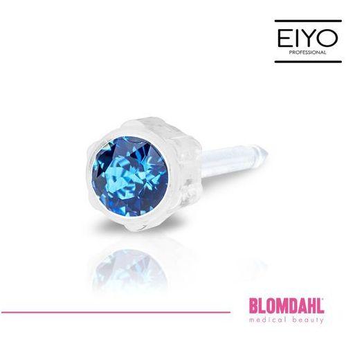Blomdahl Kolczyk do przekłuwania uszu - sapphire 4 mm